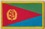 Eritrea Embroidered Flag Patch, style 08.